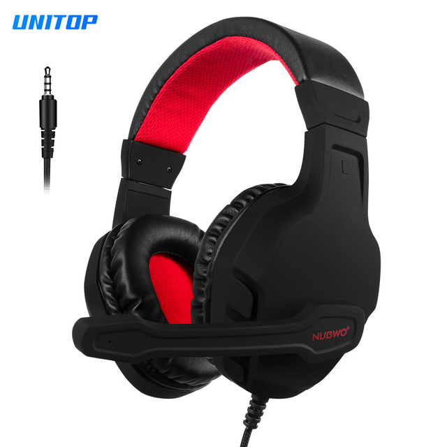 Gaming Headsets Pc Ps4 Casque Stereo Headphones With Microphone For