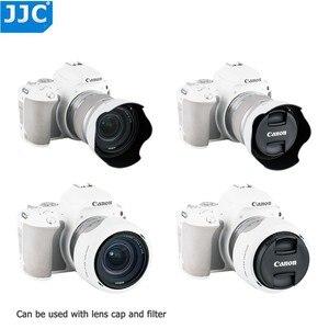 Image 3 - Capot dobjectif pour Canon EOS 90D 80D 70D 77D, Canon EF S 18 55mm f/3.5 5.6 is STM, Canon EF S 18 55mm f/4 5.6 is STM remplace EW 63C
