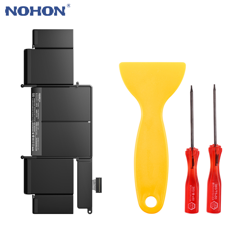 NOHON Laptop Battery A1493 For MacBook Pro Retina 13