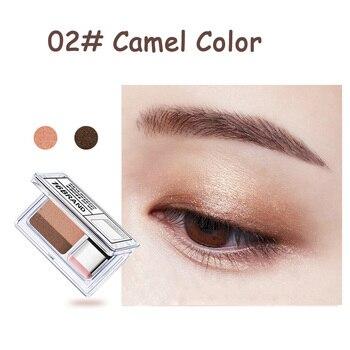 LAIKOU Double Color Eye Shadow Makeup Palette Glitter Palette Eyeshadow Pallete Waterproof Glitter Eyeshadow Shimmer Cosmetics 3