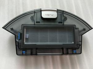 Image 1 - Boîte à poussière avec filtre HEPA primaire, pour ILIFE x620 x623 ilife A6, pièces détachées pour robot aspirateur, boîte à poussière avec filtres