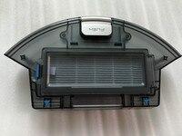 Poeira bin caixa de Filtro HEPA Primário para o ILIFE x620 x623 ilife A6 Peças robô aspirador de pó poeira caixa incluem filtros