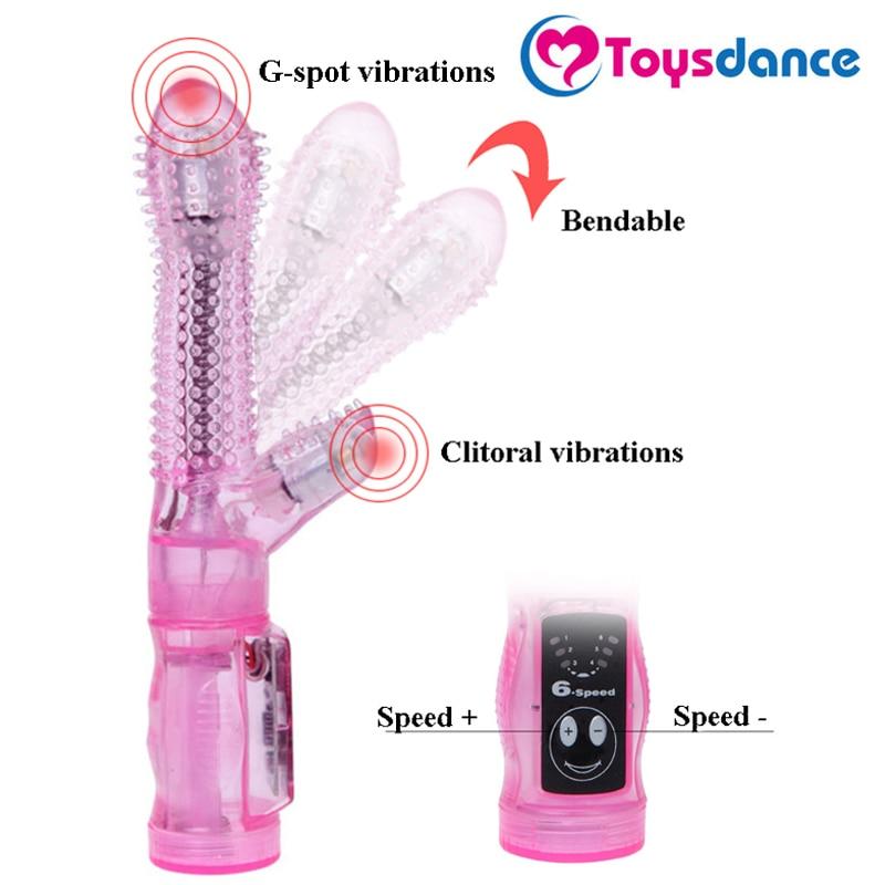 Toysdance Stachelige Orgasmus Kaninchen Vibrator Für Frauen Freies Biegsamen G-spot Stimulation Der Klitoris Weibliche Sex Spielzeug Massieren Zauberstab