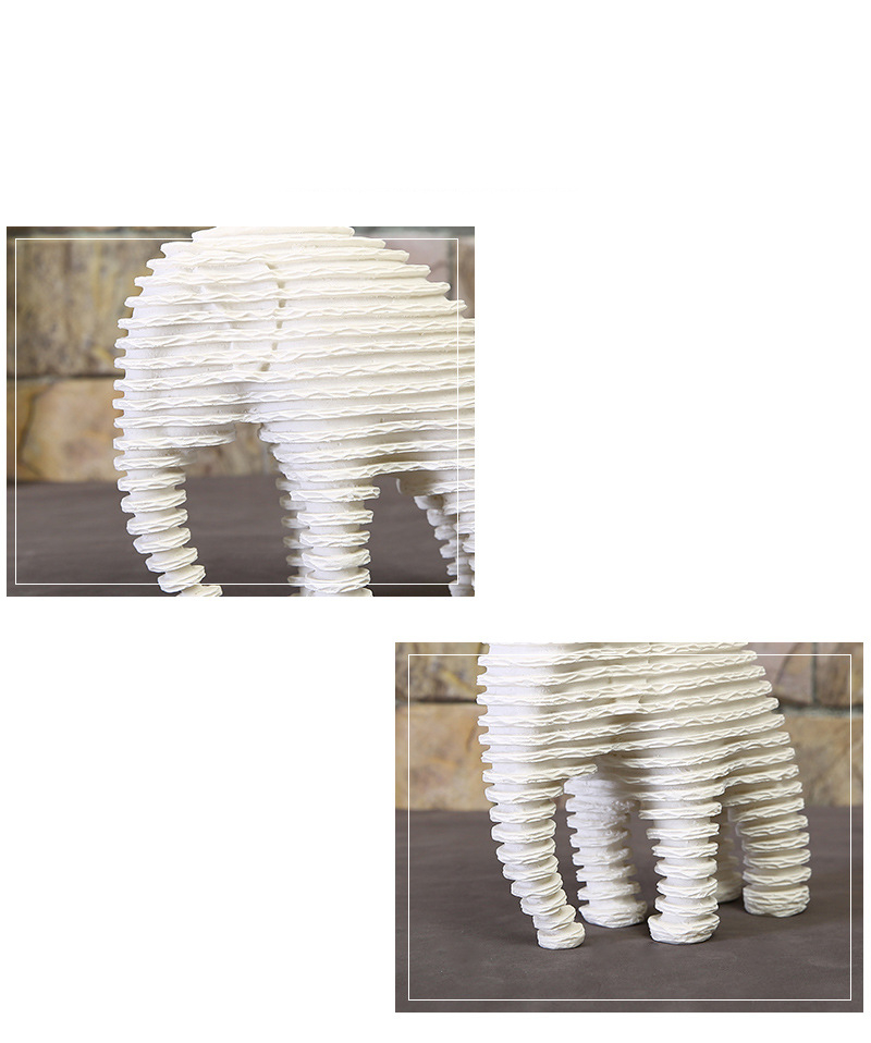 Elephant Figurines (3)