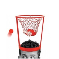 New Parent Child Interactive Toys Hat Outdoor Fun Kids Toddler Baby Children Head Basketball Hoop Game