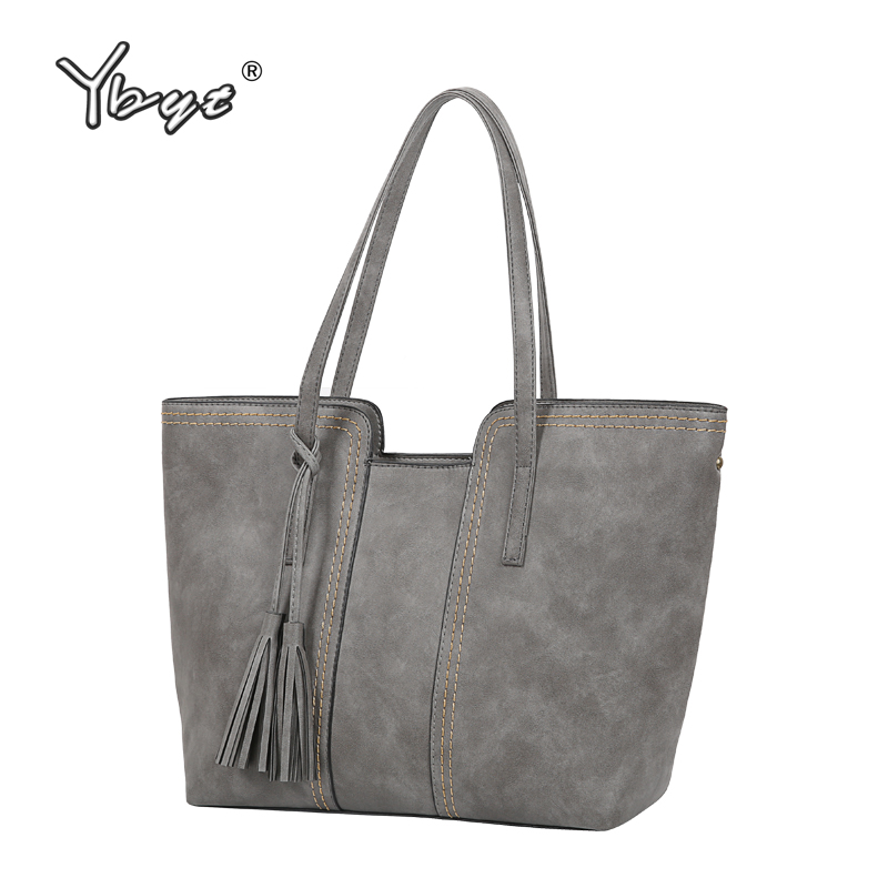 YBYT Brand 2017 New Vintage Casual Large Capacity Women Handbags Hotsale Ladies Shopping Bag Shoulder Messenger