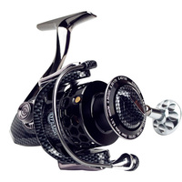 YUYU Full metal Fishing Reel 17+1BB serie 3000 5000 7000 spinning reel with spare spool fishing spinning reel pesca metal spool