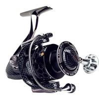 YUYU Full metal Fishing Reel 17+1BB serie 3000 5000 7000 spinning reel with spare spool fishing spinning reel pesca metal spool