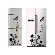 DIY Creative refrigerator sticker butterfly home decor DIY wall stickers for kids room wall stickers for kids rooms wallpaper