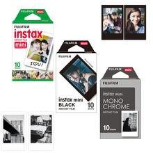 Fuji Fujifilm Instax Mini 8 película monocromática Mono/negro/blanco película instantánea 30 Uds para Mini 8 70 8 Plus 90 25 Cámara SP 1 SP 2