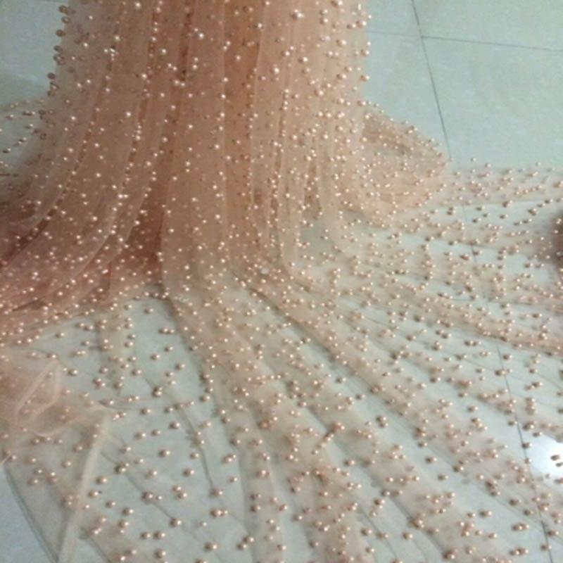 웨딩 드레스에 대 한 파란색 된 레이스 패브릭 - 예술, 공예, 바느질