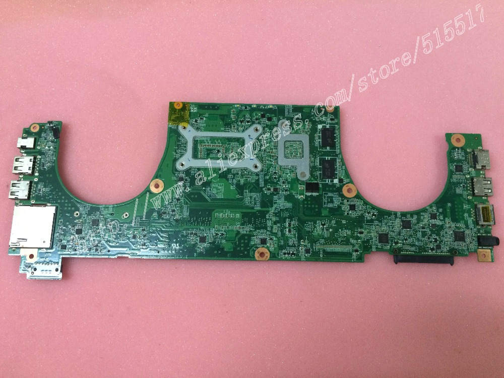 working Perfetly For DELL Vostro 5470 V5470 Notebook Motherboard DAJW8CMB8E1 Mainboard with intel I3-4010U CPU