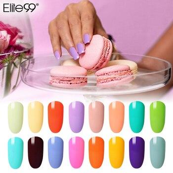 Elite99 30 ml Macaron Farbe Gel Polnischen DIY Nail art Design LED Lampe UV Gel Tränken Weg Langlebige Gel lacke Maniküre Gellak