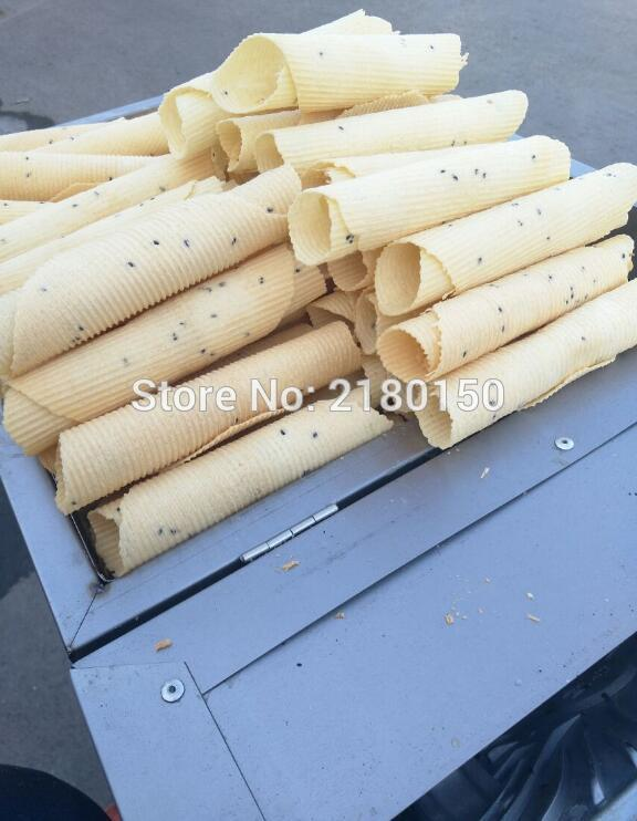 Gas Egg Roll Machine Commercial Baker Stainless Steel Toasted Crispy Egg Roller Non Stick Pan Roll Making Machine 60 - 6