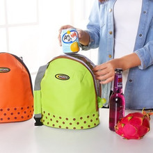 лучшая цена South Korean Version Oxford Handbag Insulation Bag Ice Pack Lunch Storage Bag Outdoor Picnic Insulation Bag Lunch Box Handbag