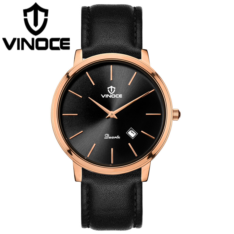 VINOCE 2018 Top Brand Luxury Quartz Watch Man Stainless Steel Band Bracelet Watches Waterproof Relogio Feminino relogio feminino top brand men watches fashion stainless steel analog quartz wrist watch lady luxury mesh band bracelet watch n