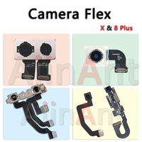 AiinAnt Real Back Camera Flex For IPhone 8 Plus Front Facing Camera Flex Cable For IPhone