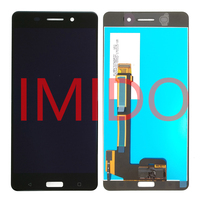For Nokia 6 LCD Display Touch Screen Digitizer Assembly Frame Replacement Parts
