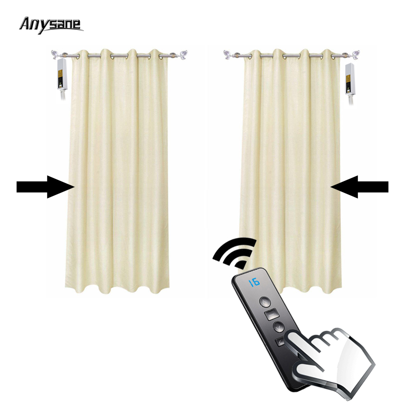 Smart Remote Control For Motorized Curtain Rf 433 92mhz
