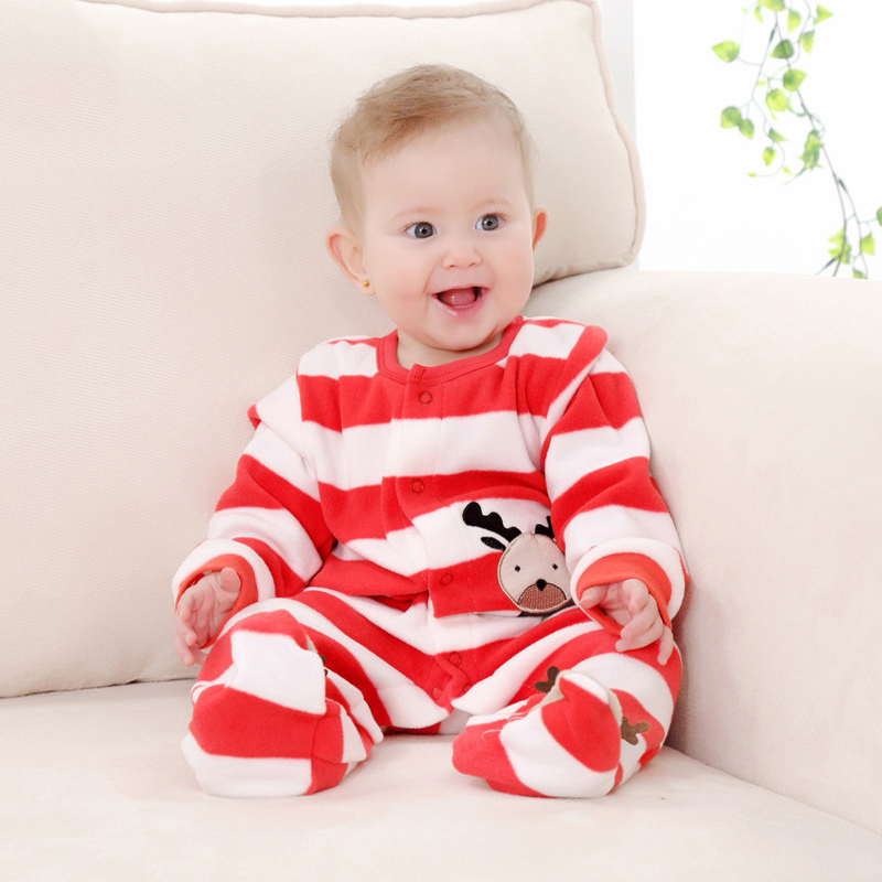 Newborn Fleece Baby Rompers Long Sleeve Baby Boys Girls Clothing Spring Winter Newborn Jumpsuits Roupas Bebes Baby Girls Clothes cotton baby rompers set newborn clothes baby clothing boys girls cartoon jumpsuits long sleeve overalls coveralls autumn winter