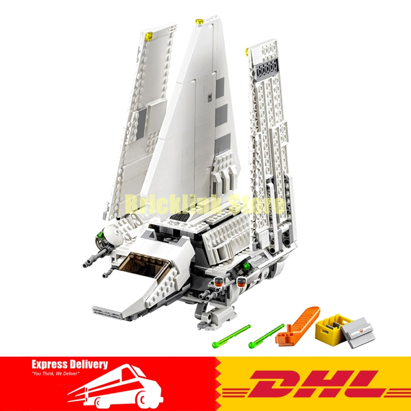 IN-STOCK LEPIN 05057 977PCS Imperial Shuttle Tydirium Building Blocks Bricks Assembled Toys Compatible75094 Gift lepin 22001 pirate ship imperial warships model building block briks toys gift 1717pcs compatible legoed 10210