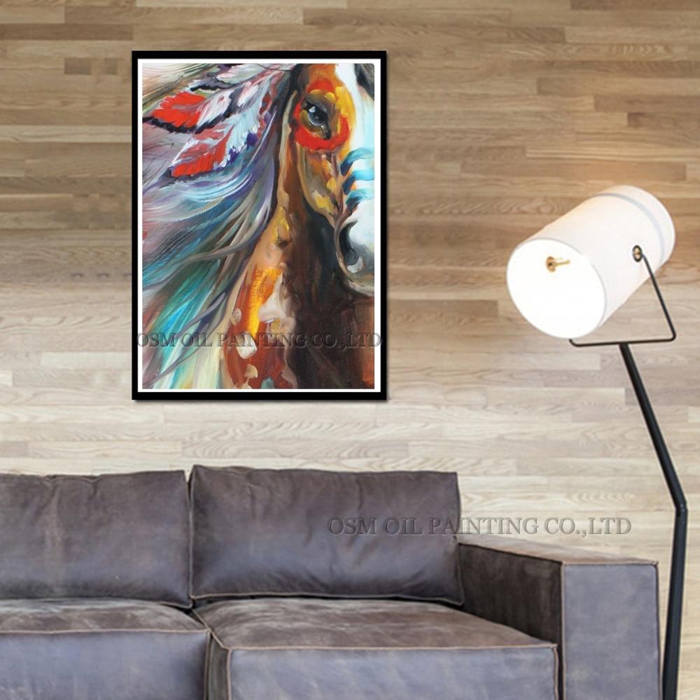 Жоғары сапалы жылқы майы суретінің - Үйдің декоры - фото 3