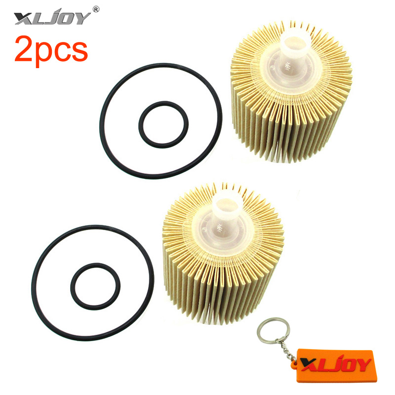 Xljoy 2 Stücke Ölfilter Für Lexus Rx350 Rx450h Toyota 04152-yzza1 Scion Avalon Camry Highlander Venza Feine Verarbeitung