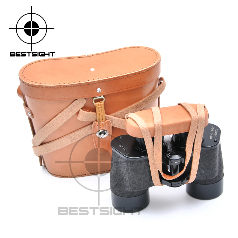 2016 New brand <font><b>7X40</b></font> Military <font><b>Binoculars</b></font> 40mm Big Eyepieces Waterproof Telescope Binoculares Zoom For Outdoor Travel Camping image