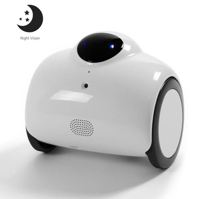 Smart 720P HD WIFI Family Robot Baby Monitor with IR Night Vision 2 Way Voice Intercom