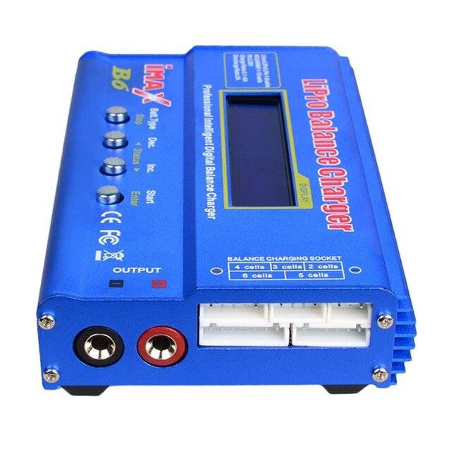 SKYRC IMAX B6 Lipo NiMh Li-ion Ni-Cd RC Balance Bateria Descarregador Carregador Digital Com 15 V 4A Poder adaptador