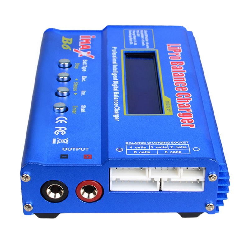 ФОТО SKYRC IMAX B6 Lipo NiMh Li-ion Ni-Cd RC Battery Balance Digital Charger Discharger With 15V 4A Power Adapter