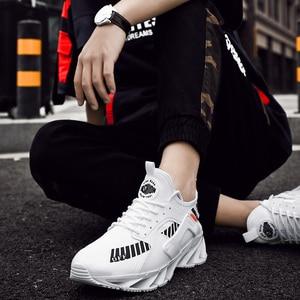 Image 3 - 2019 grande taille 39 46 hommes baskets confortable adulte concepteur léger mode respirant été formateurs hommes chaussures # ABG72