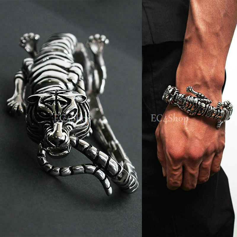 316l Stainless Steel Tiger Bracelet