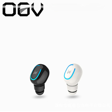 Wholesale OGV mini bluetooth earphone sport Binaural Sports Headset Earbuds In-Ear Earphone Built-in Microphone with Chargeable Mini Box