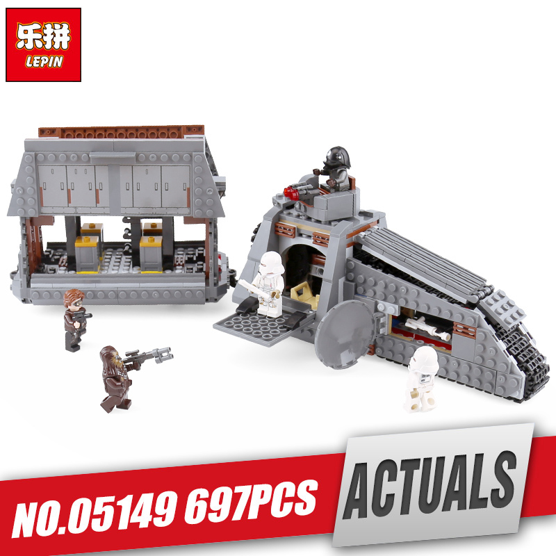 Lepin 05149 Star Series Wars The Legoinglys 75217 Imperial Conveyex Transport Set Building Blocks Bricks Kids Toy Christmas Gift