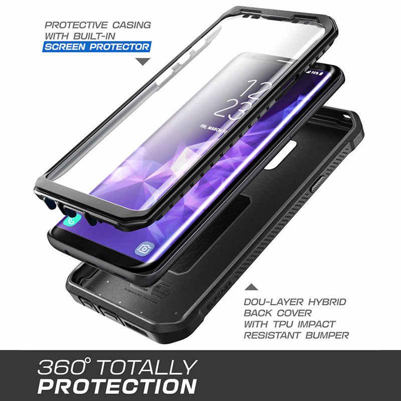 SUPCASE do Samsung S9 Case UB Pro wytrzymała obudowa na cały korpus z wbudowanym futerałem na ekran do Samsung Galaxy S9