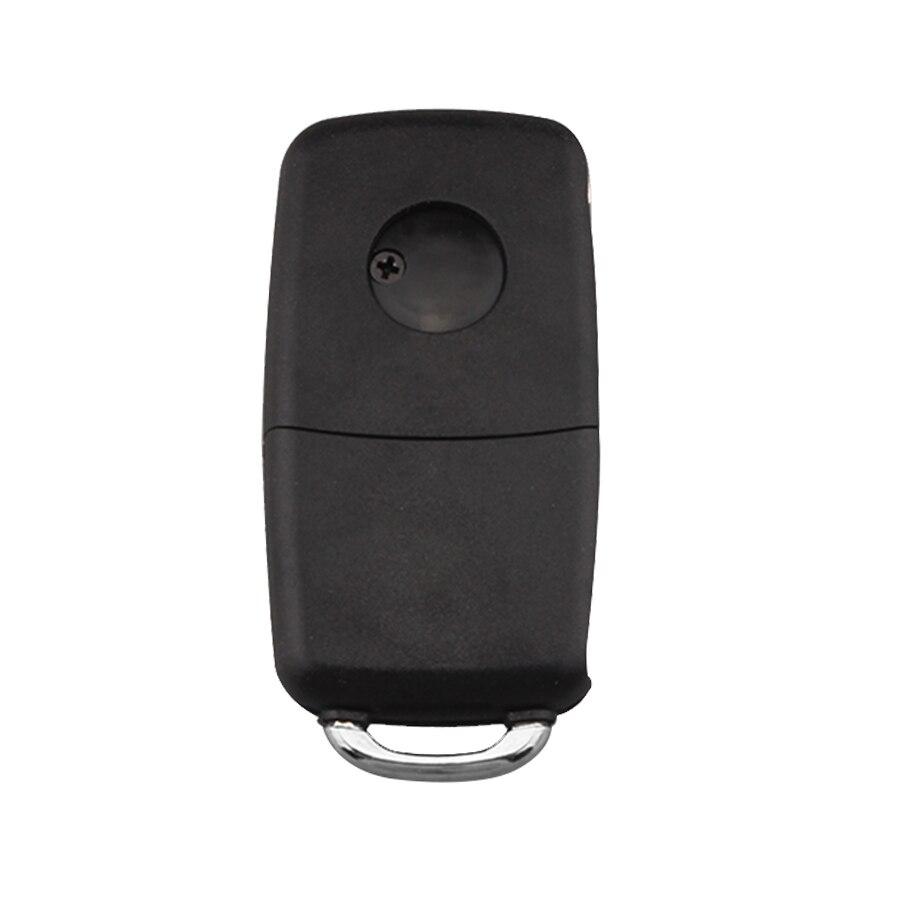 20pcs*3 Buttons Folding Remote Car Key Case For VW Passat Polo Golf Touran Bora Ibiza Leon Octavia Fabia Flip Car Shell Fob
