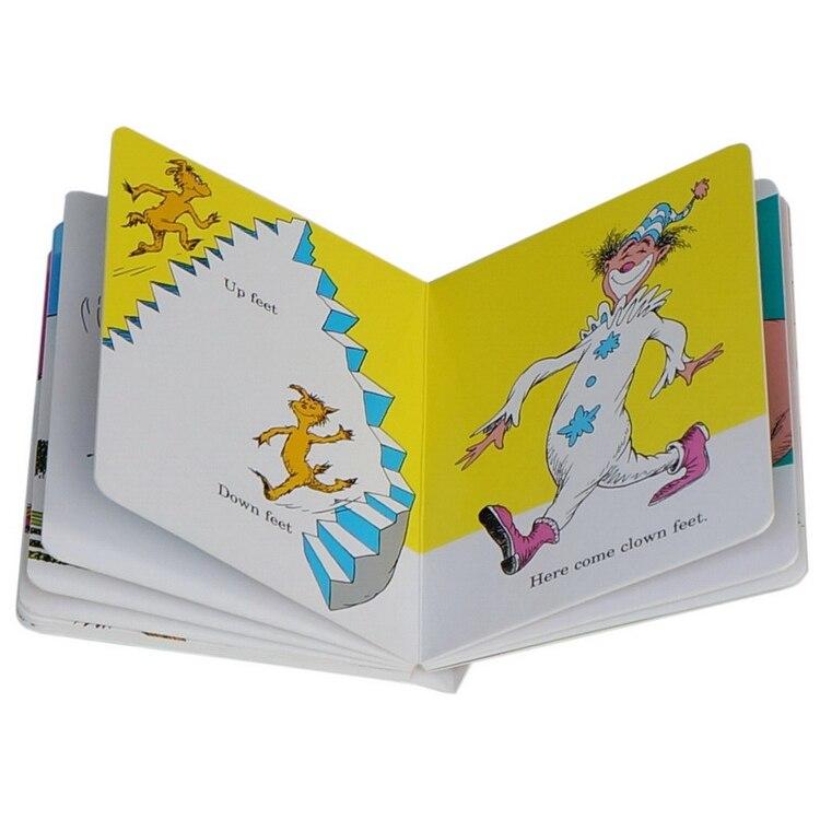 Dr seuss série-o pé livro inglês imagem