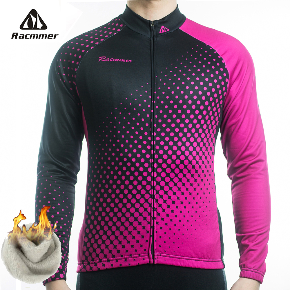 Racmmer Warm 2018 Hot Winter Thermal Fleece Cycling Jersey Ropa Ciclismo Mtb  Long Sleeve Men Bike Wear Clothing Maillot  ZR-39 5b786461b