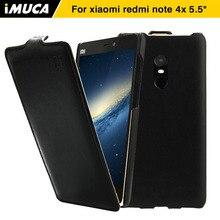 For Xiaomi Redmi Note 4x Case Cover iMUCA Flip Leather Case for Xiaomi Redmi Note 4x Pro Phone Case Xiaomi Redmi Note 4x Cover
