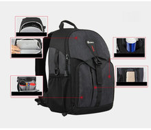 лучшая цена NEW Waterproof BACKPACK DSLR SLR Camera Case Bag For Nikon Canon Sony Fuji Pentax Olympus Leica Outdoor Bag Photograph Bag D2830