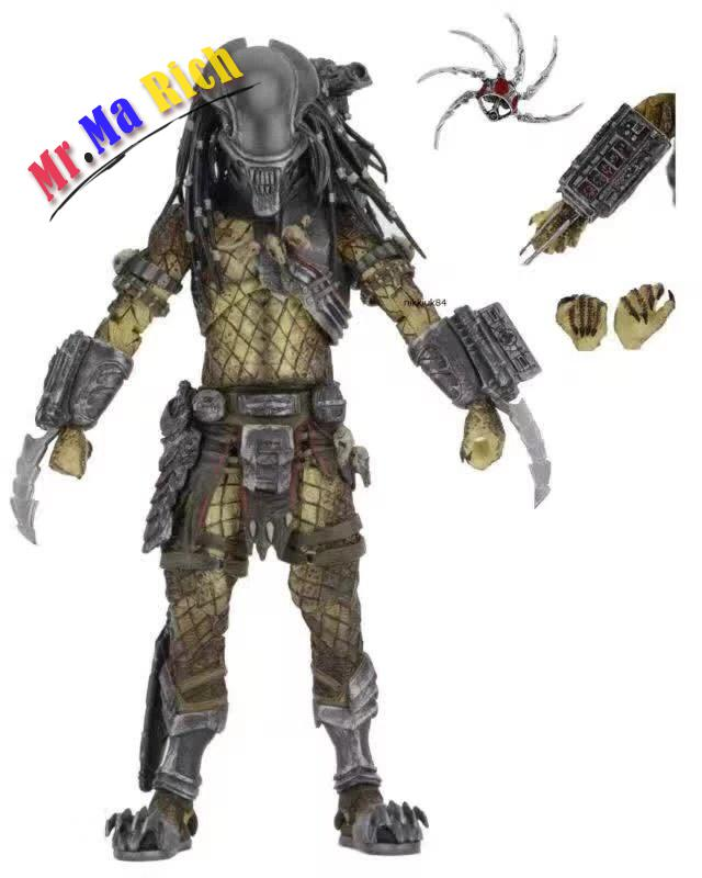 "AVP Aliens vs. Predator Series NECA Young Blood Predator / Serpent Hunter PVC Action Figure Collectible Model Toy 8"" 20cm"