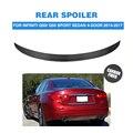 Спойлер для крыла багажника из углеродного волокна для Infiniti Q50 Standard / Q50 Sport Sedan 4 двери 2014-2017