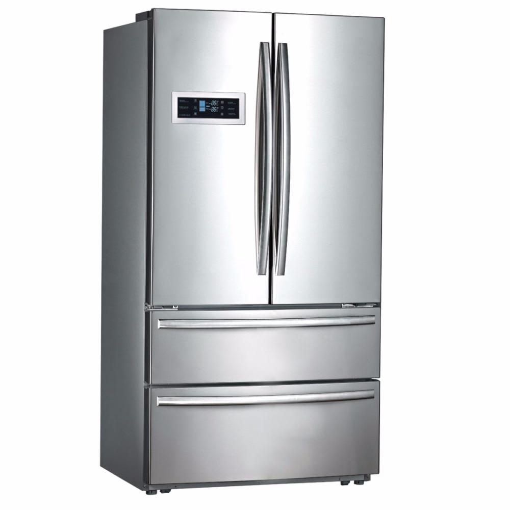 Smad 21 Cu Ft Counter Depth French Door Refrigerator Freezer Auto