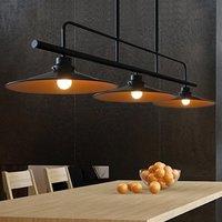 Лофт старинные подвесные светильники гладить шкив лампы бар Кухня украшения дома E27 Edison светильники
