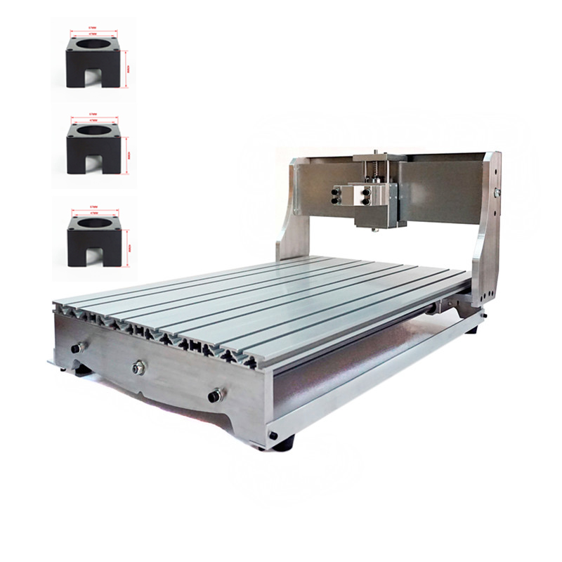 CNC 6040 Router Frame kit milling machine with bed aluminum lathe body cnc 6040 router 1605 ball screw cnc frame kit diy cnc engraving machine