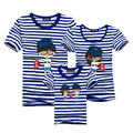 1 Piece Mother And Daughter Family Look  Printed T Shirts Summer Family Clothes Father Mum Girl Son Outfits Matching Clothes