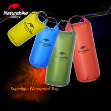 Naturehike Surpelight Waterproof Dry Bag 5L/10/20/30L Outdoor Swimming Dry Sack Storage Bags Men's Rafting Compression Bag