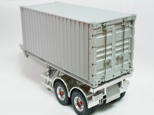 TAMIYA Tractor Truck Trailer 1/14 Scale 20 Foot Container