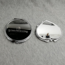 UNIQUE wedding gifts For guest NIce quality Women Makeup Mirror personalized wtih your name and date 30pcs/lot